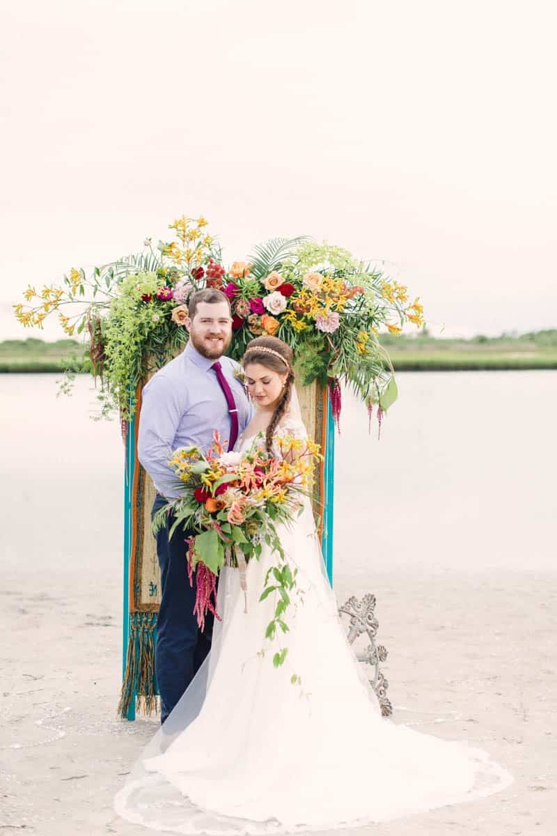 HOW TO STYLE A MOROCCAN BOHO BEACH WEDDING (22)