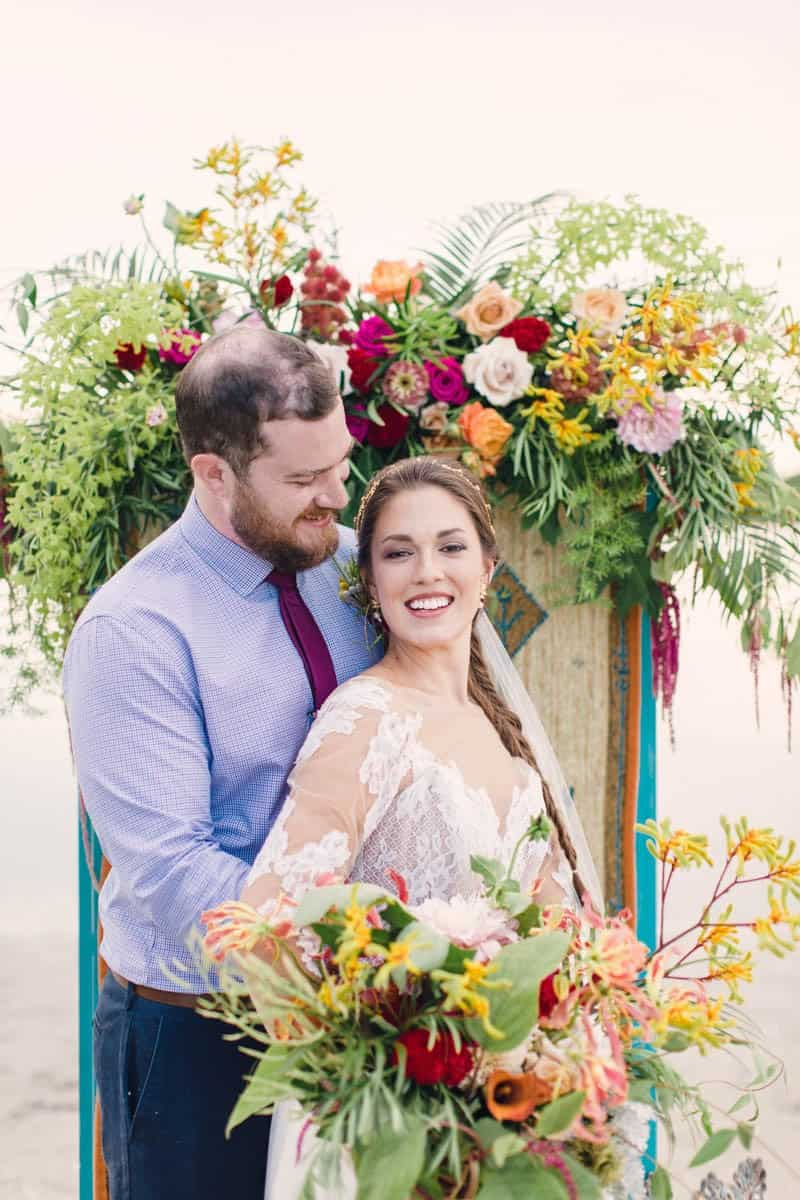 HOW TO STYLE A MOROCCAN BOHO BEACH WEDDING (3)