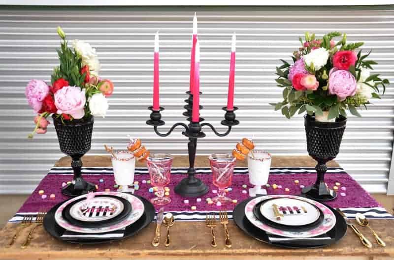 Valentines Day Inspired Food Park Wedding Bespoke Bride Wedding Blog