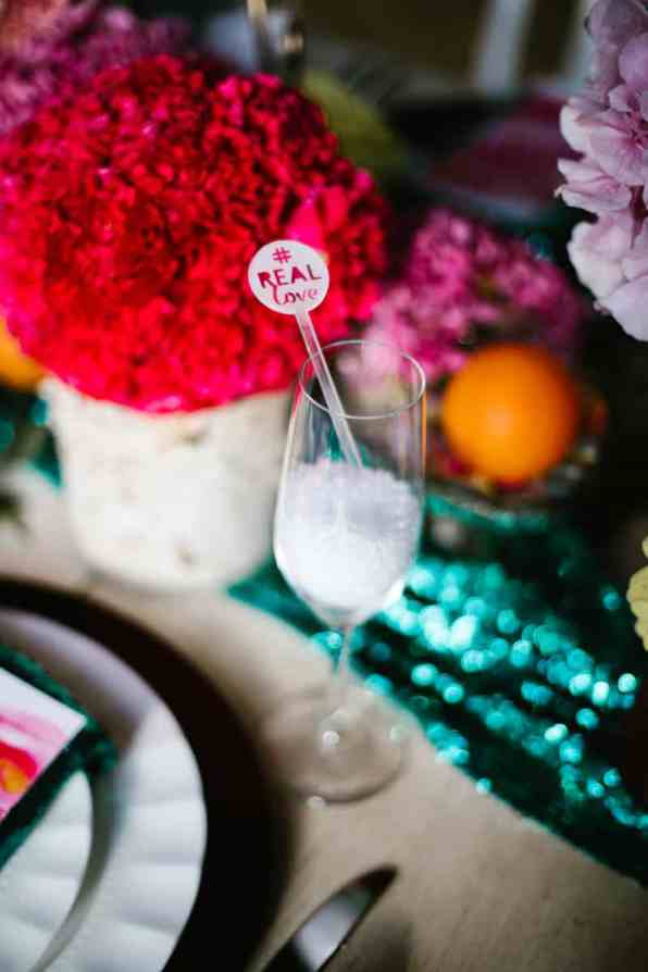 PLAYFUL & ROMANTIC KATY PERRY INSPIRED WEDDING WITH COLORFUL BALLOON ARCH (10)