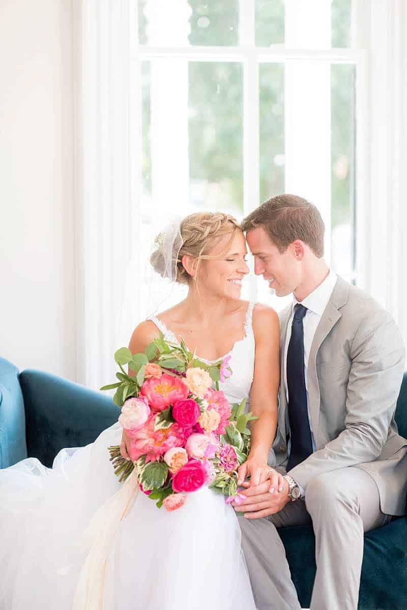 STYLISH FLORAL & FOLIAGE MERRIMON WYNNE HOUSE WEDDING (1)