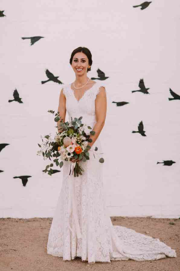 A PERSONALIZED & RUSTIC WEDDING IN A DOWNTOWN PHOENIX ART GALLERY (18)