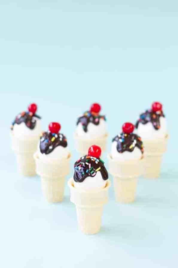DIY-Ice-Cream-Cone-Easter-Eggs - Studio DIY