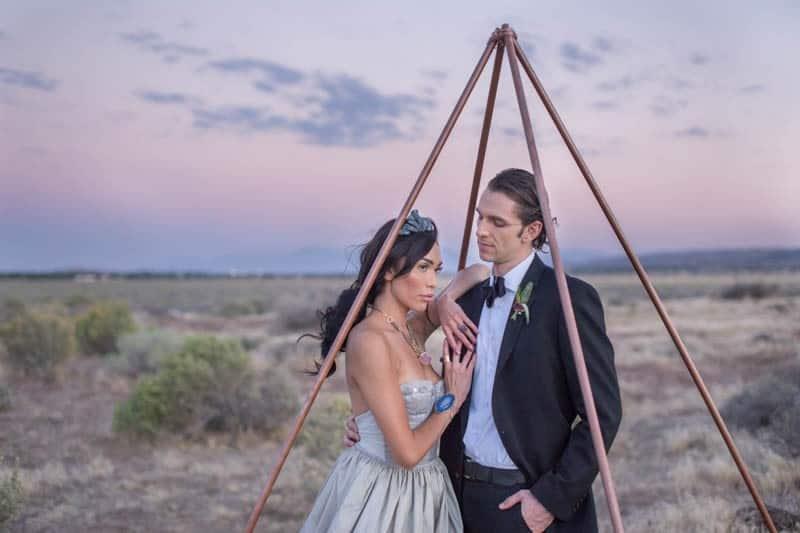 RUSTIC BOHO CRYSTAL WEDDING IDEAS WITH AMETHYST QUARTZ (24)