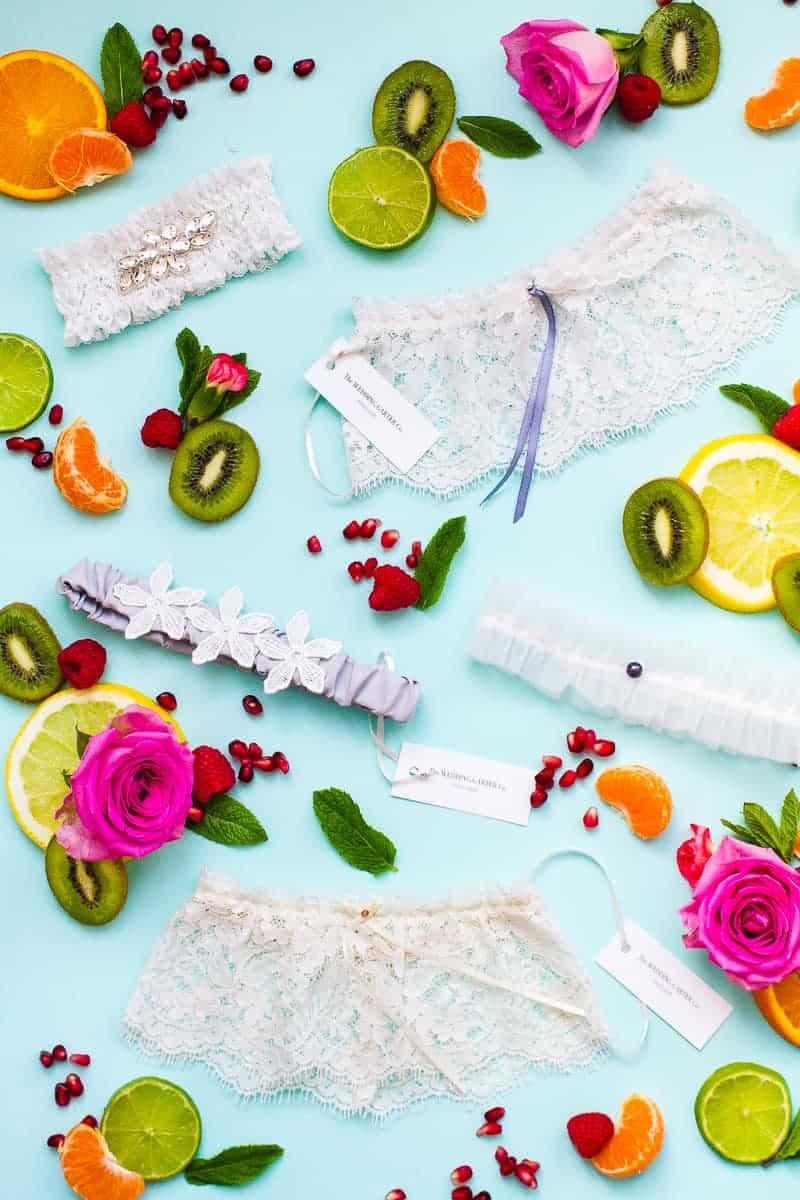 Wedding Garters Wedding Garter Co Bespoke Bride Finding your perfect garter style suit dress tulle silk satin lac-1