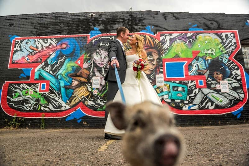 FUNKY COLORADO THEMED WEDDING WITH A PET PIG (3)