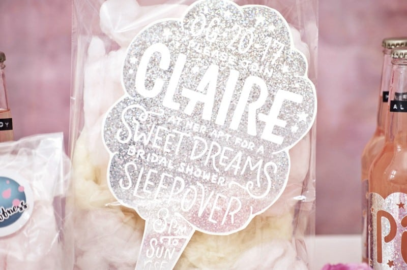 SWEET PINK PASTEL UNICORN BRIDAL SHOWER HEN PARTY SLEEPOVER (5)