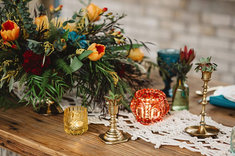 View More: https://aliciamagnusonphoto.pass.us/vintage-boho-styled-shoot-2017