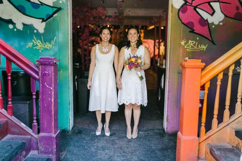 BLIND WHINO ARTS CENTRE RAINBOW SAME SEX WEDDING (20)