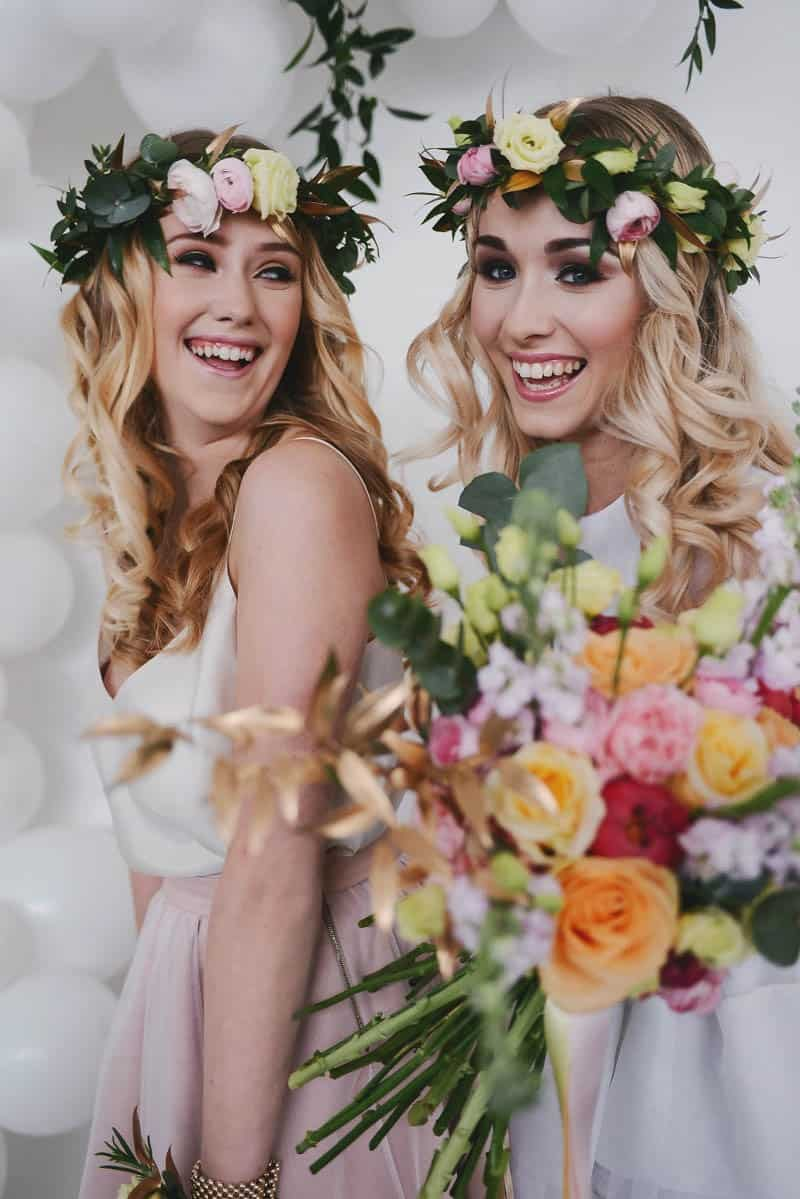 bohemian pastel candy themed bridal shower ideas 5