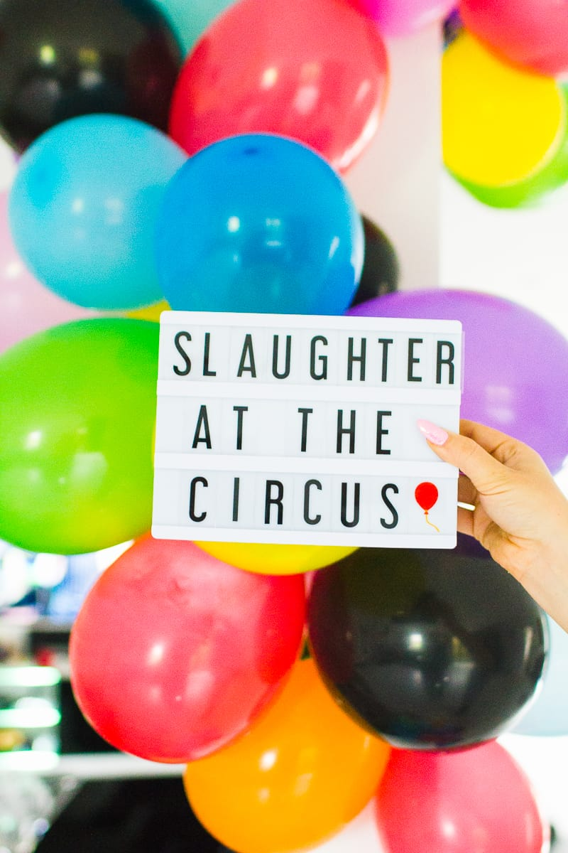 circus themed murder mystery halloween party | bespoke-bride