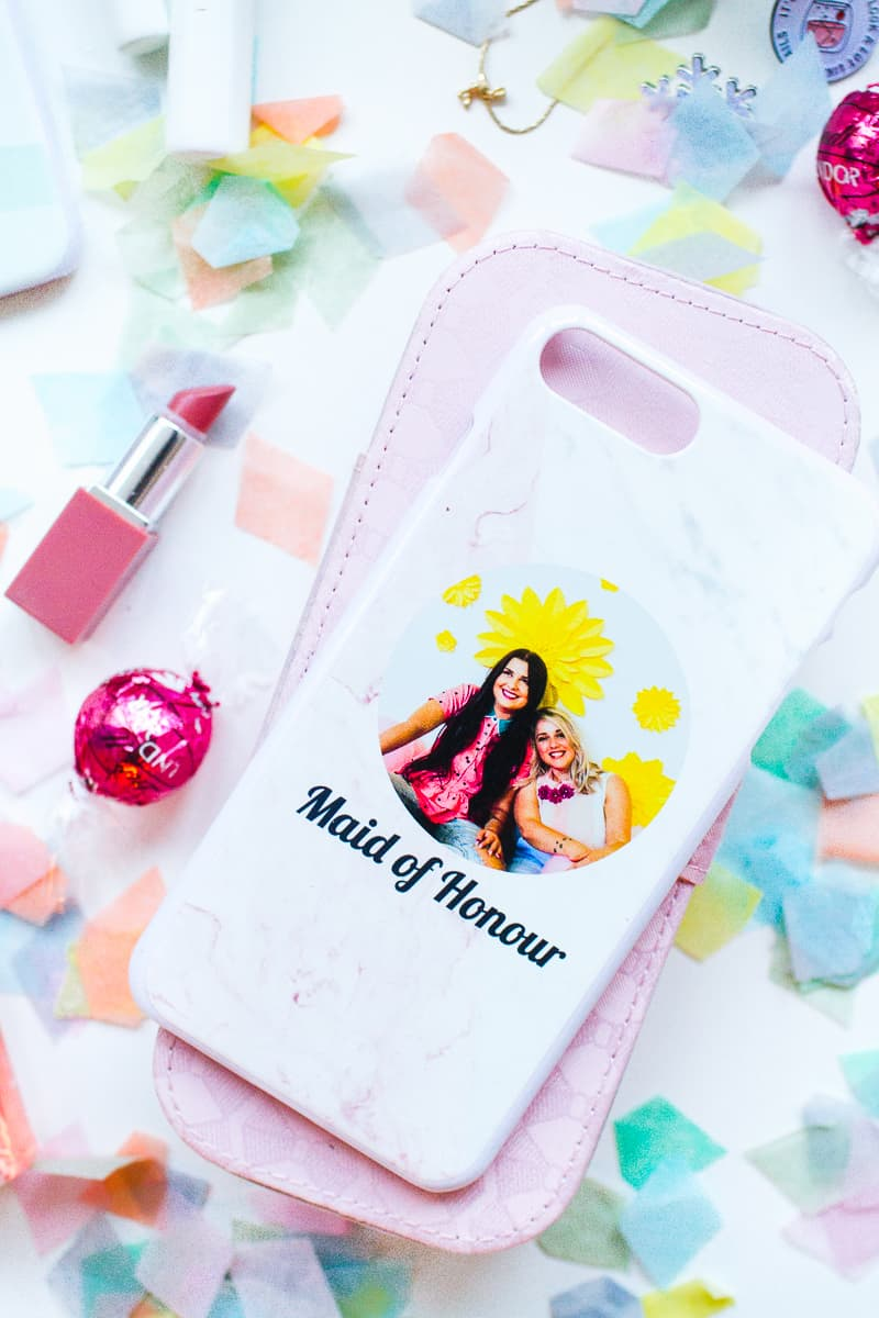 Personalized Phone Cases For Your Bridesmaids Bespoke Bride
