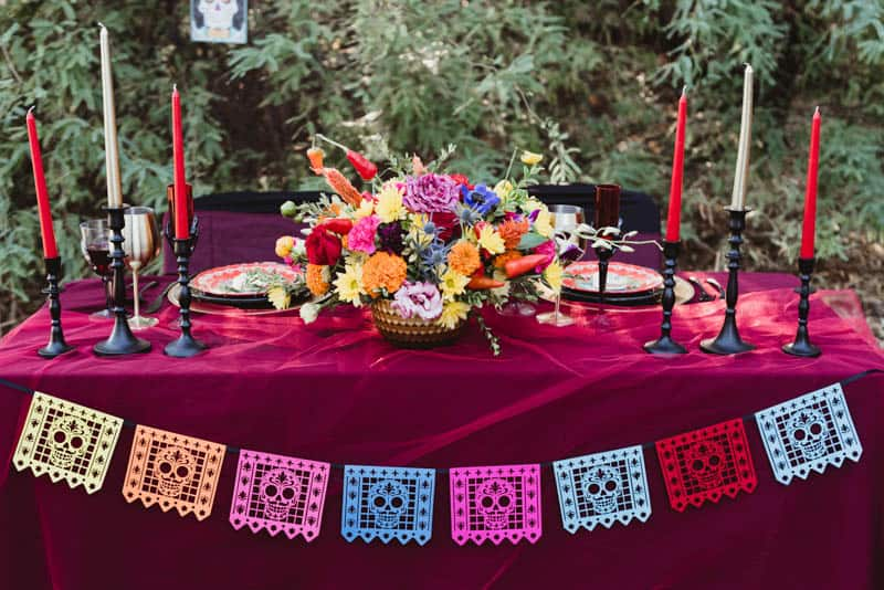 SPOOKTACULAR DAY OF THE DEAD WEDDING INSPIRATION | Bespoke-Bride ...