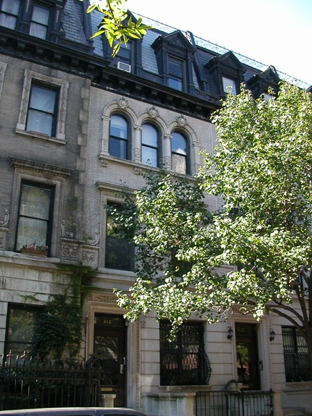 Landmark Harlem Townhouse