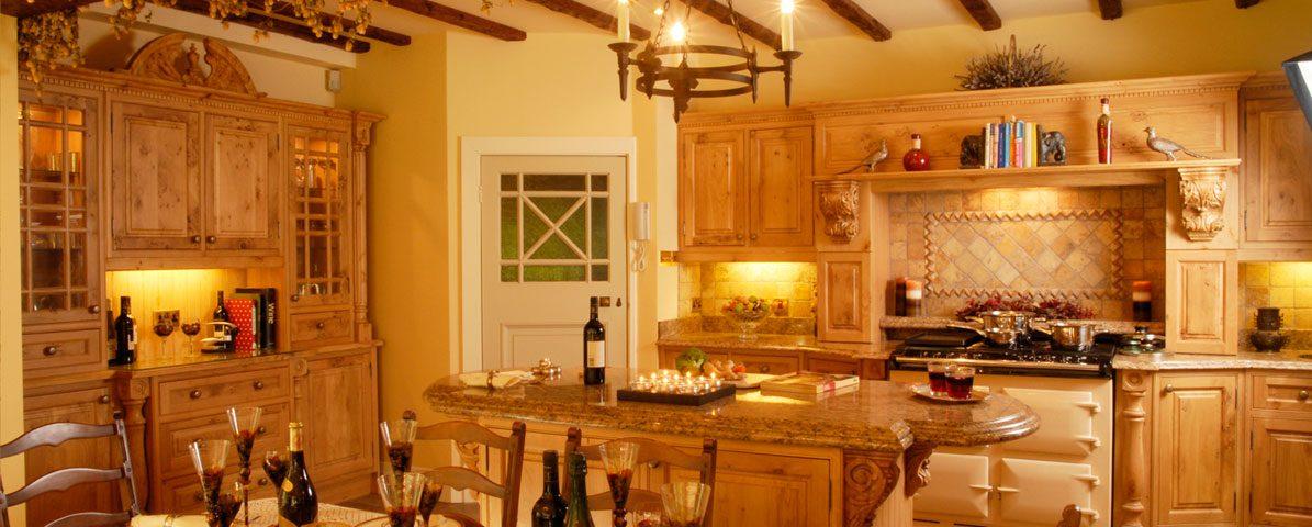 What is a 'luxury farmhouse kitchen' on Luxury Farmhouse Kitchen  id=34563
