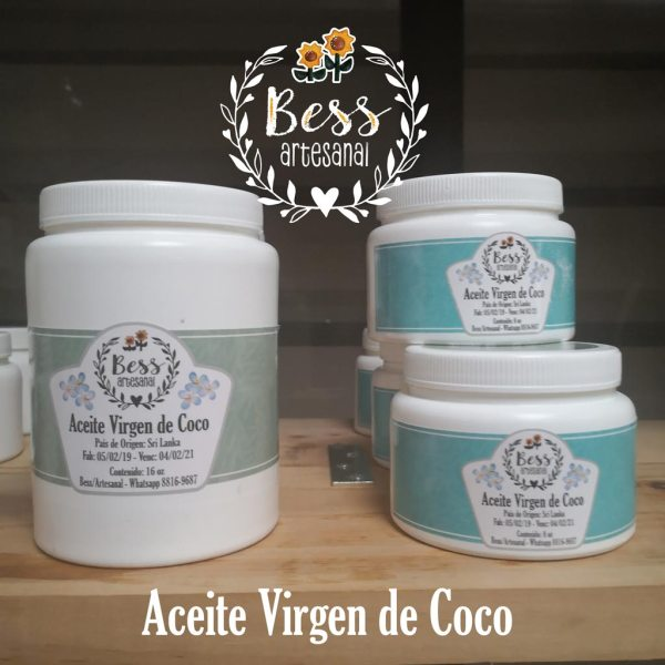 Bess Artesanal - Aceite de coco