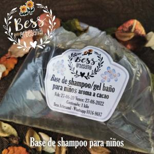 Bess Artesanal - Base de champú para ninos