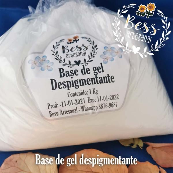 Bess Artesanal - Base de gel despigmentante