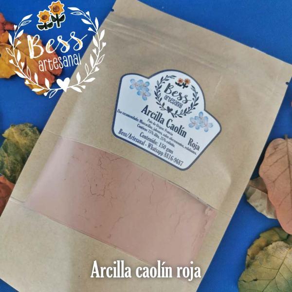 Bess Artesanal - Arcilla caolín roja