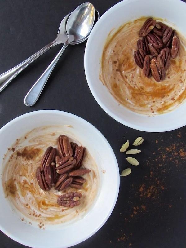 Pumpkin Chai Yogurt 1