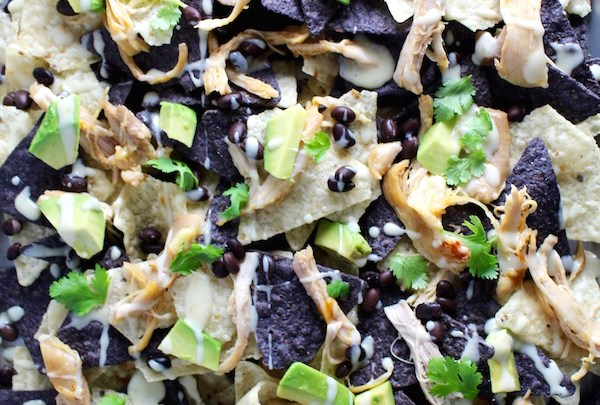 GAME DAY CHIPOTLE CHICKEN NACHOS