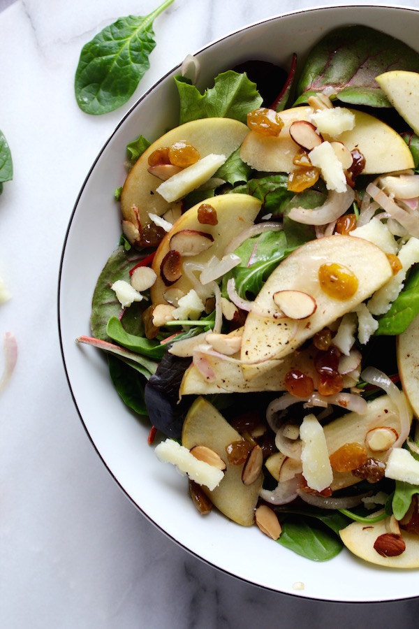 warm apple salad 1