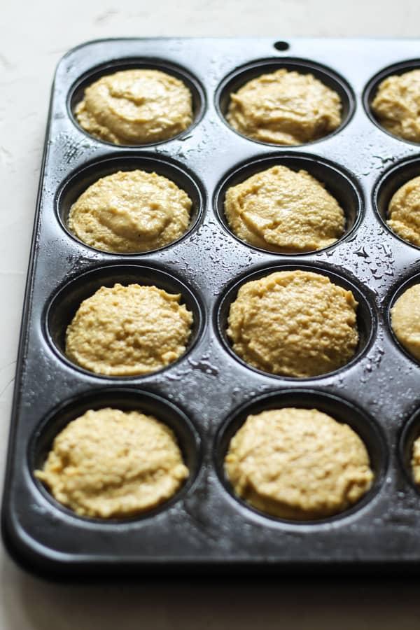 Gluten free cornbread muffins