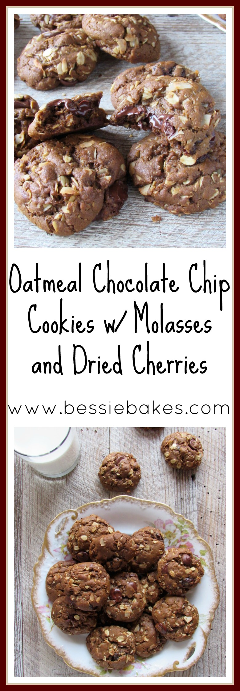 Oatmeal chocolate chip cookies pinterest