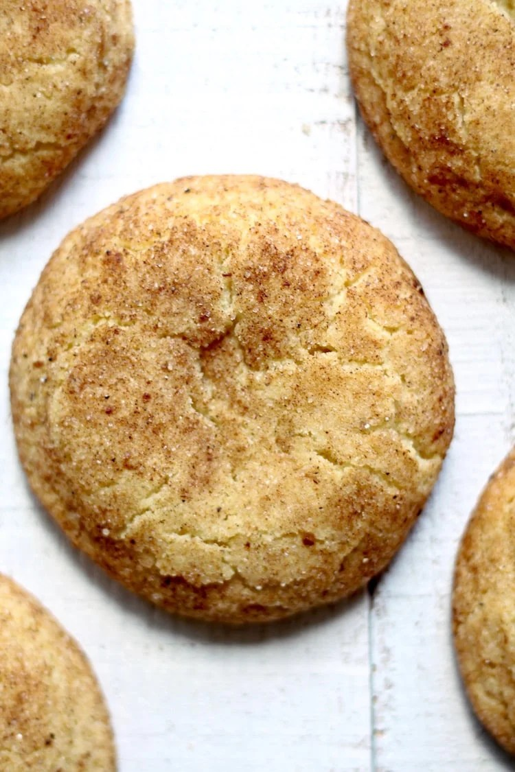 Chai Snickerdoodle cookies baked to perfection
