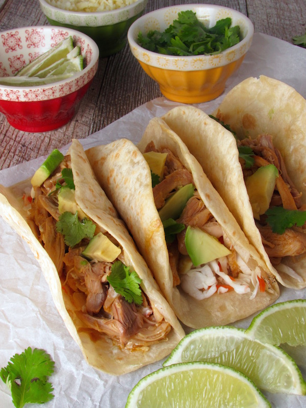 chipotle orange chicken tacos