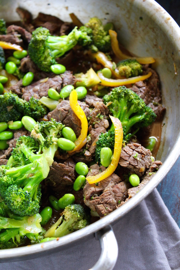beef and broccoli udon stirfry 1