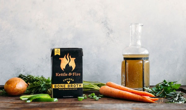 kettle and fire chicken bone broth