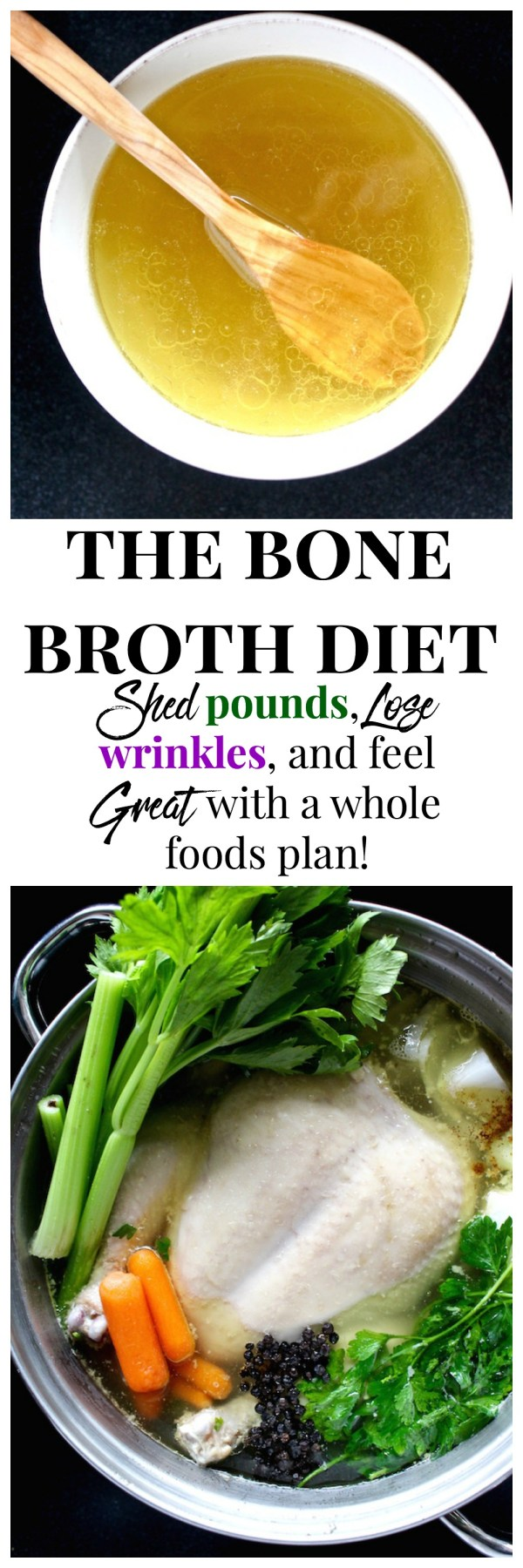 the bone broth diet pinterest