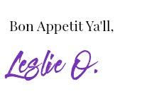 bon appetit ya'll signature