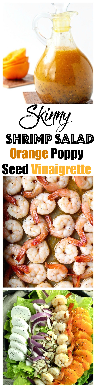 shrimp salad orange poppy seed vinaigrette pinterest