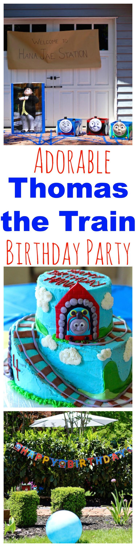 Thomas the train birthday party pinterest