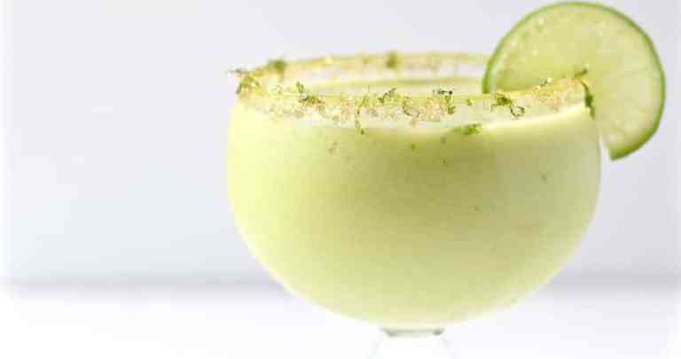 JALAPENO-INFUSED AVOCADO CUCUMBER COCKTAIL