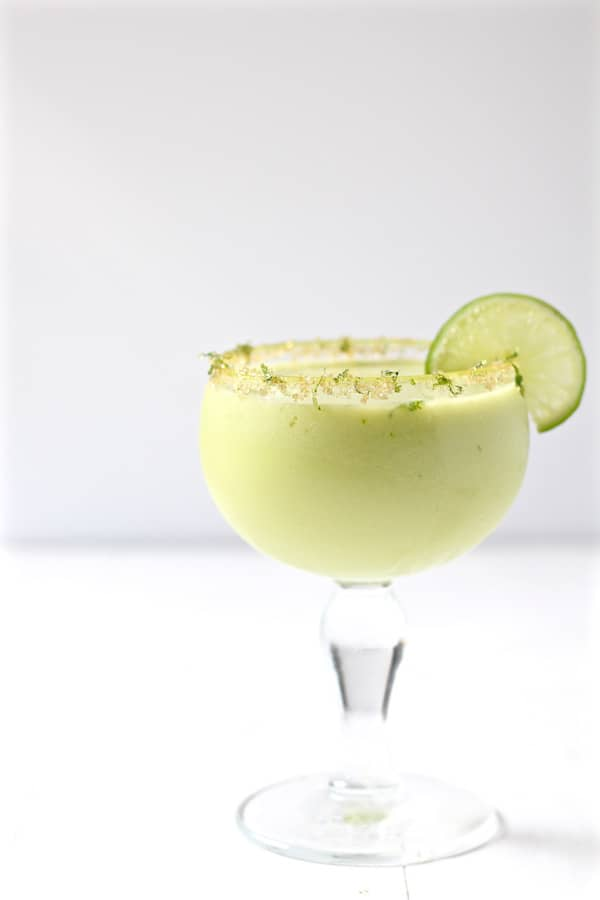 jalapeno infused avocado cucumber cocktail