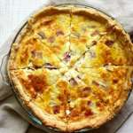French Beer quiche