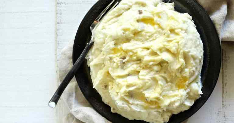 CREME FRAICHE MASHED POTATOES RECIPE