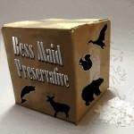 Bess Maid dry taxidermy preservative