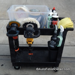 The Perfect Auto Detailing Cart