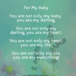 Inspirational Newborn Quotes New Baby Sayings And Verses