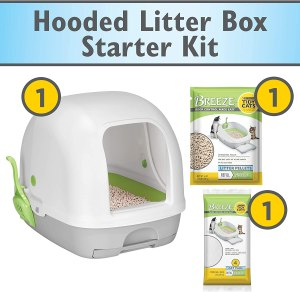Purina Tidy Cats Breeze Hooded Litter System