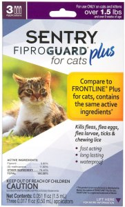Sentry Fiproguard Plus, Squeeze-On