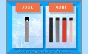 JUUL vs Rubi pod vape pens