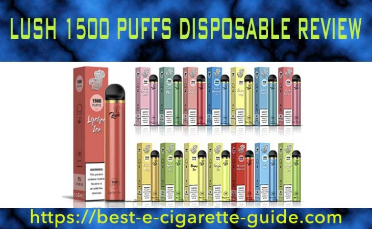 Lush 1500 Puffs Disposable Review - BECG-Title Image