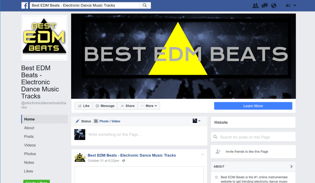 edm producer beats on facebook