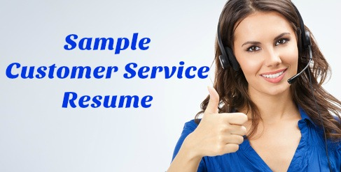 Sample 'define excellent customer service' interview answers. Sample Customer Service Resume Template