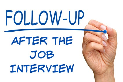 After Interview Follow Up Help 5 Steps To Success